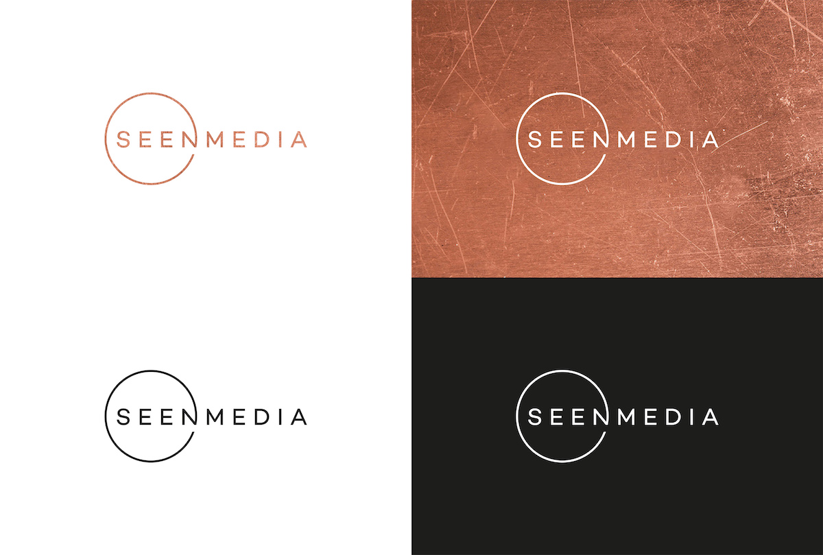 Nové logo agentury Seen Media od studia La Taupe