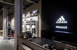 Adidas uvádí nový koncept obchodu, první v Evropě je v centru Prahy