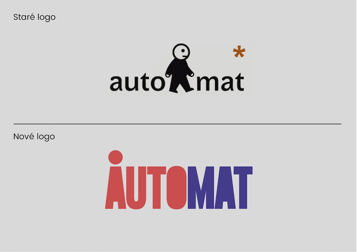 Staré a nové logo spolku AutoMat