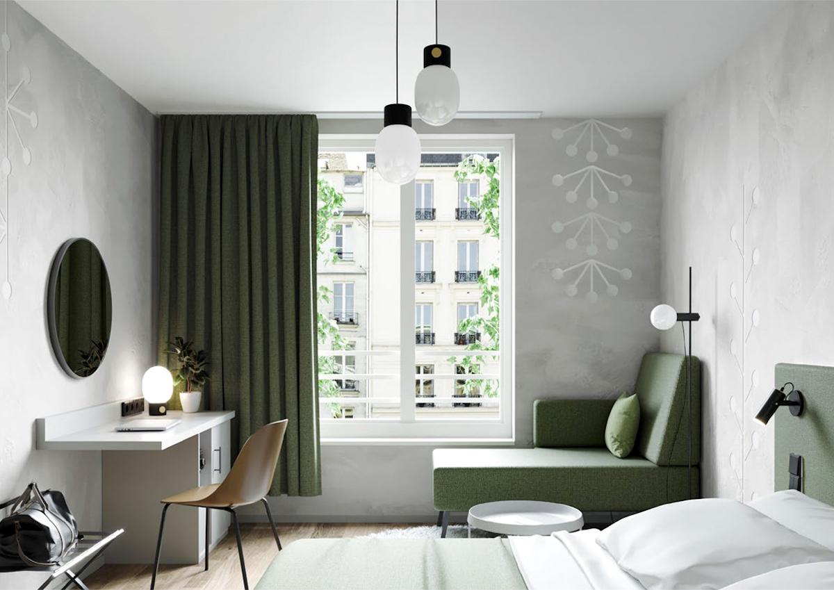 Botanique Hotel Prague: interiér pokoje