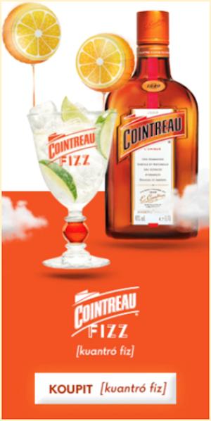 Banner Cointreau viditelný ze 100 %