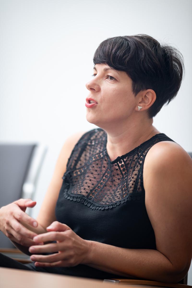 Jaroslava Haladová. Foto: Vojta Herout