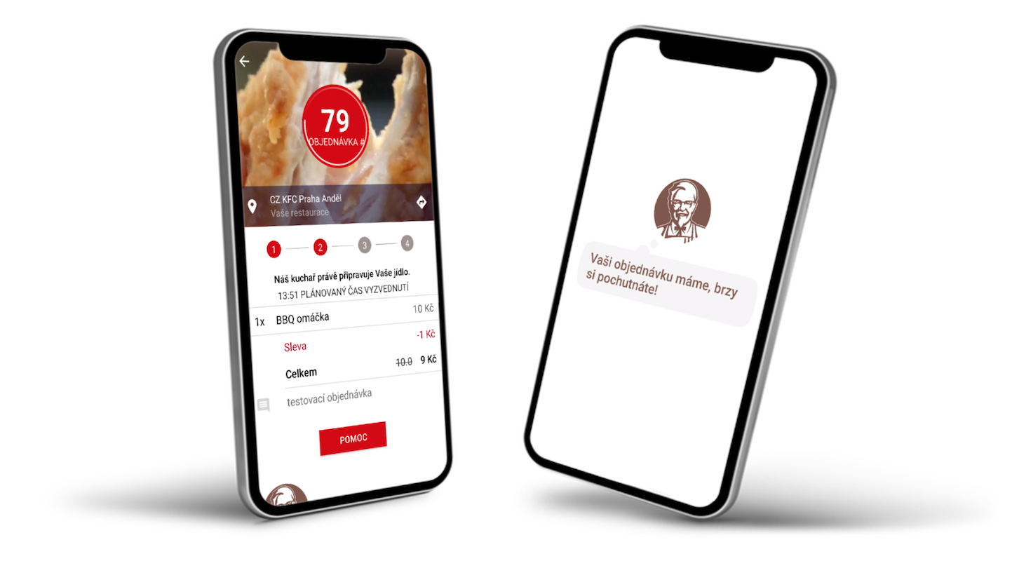 Služba Objednej & vyzvedni funguje v mobilních aplikacích pro Android a iOS