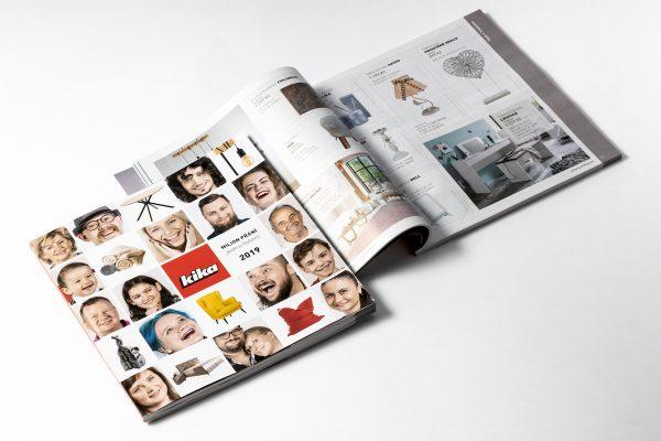 Kika omezila letáky, místo nich uvádí roční katalog