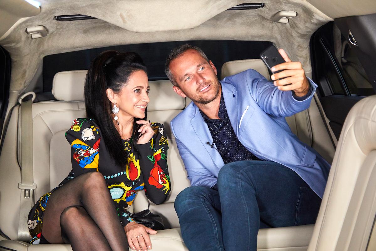 Lucie Bílá v Limuzíně s Mírou Hejdou. Foto: Jan Ráček