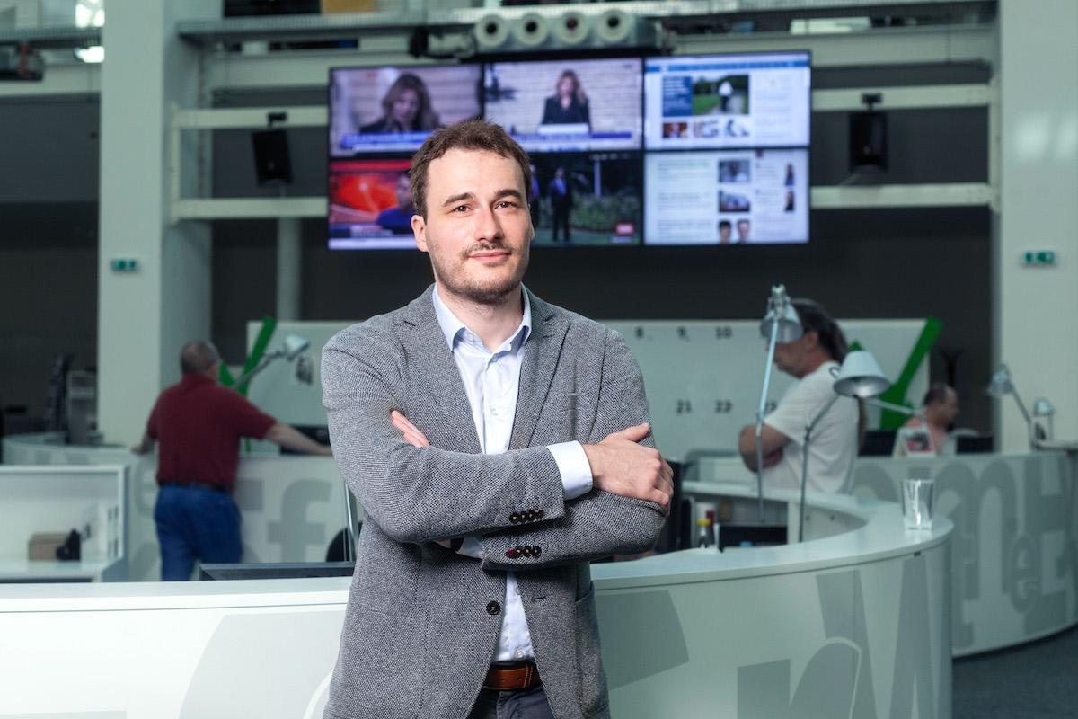Lukáš Valášek. Foto Václav Vašků, Economia
