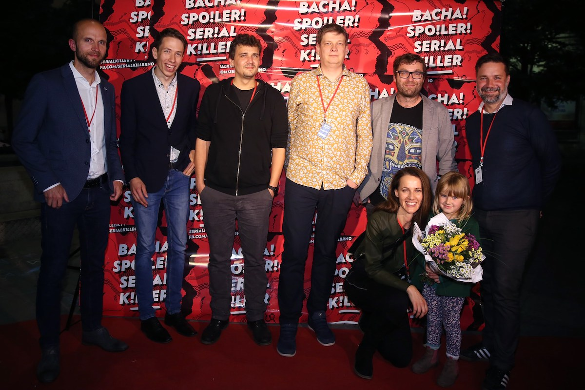 Delegace tvůrců na festivalu Serial Killer. Foto: Mall.tv