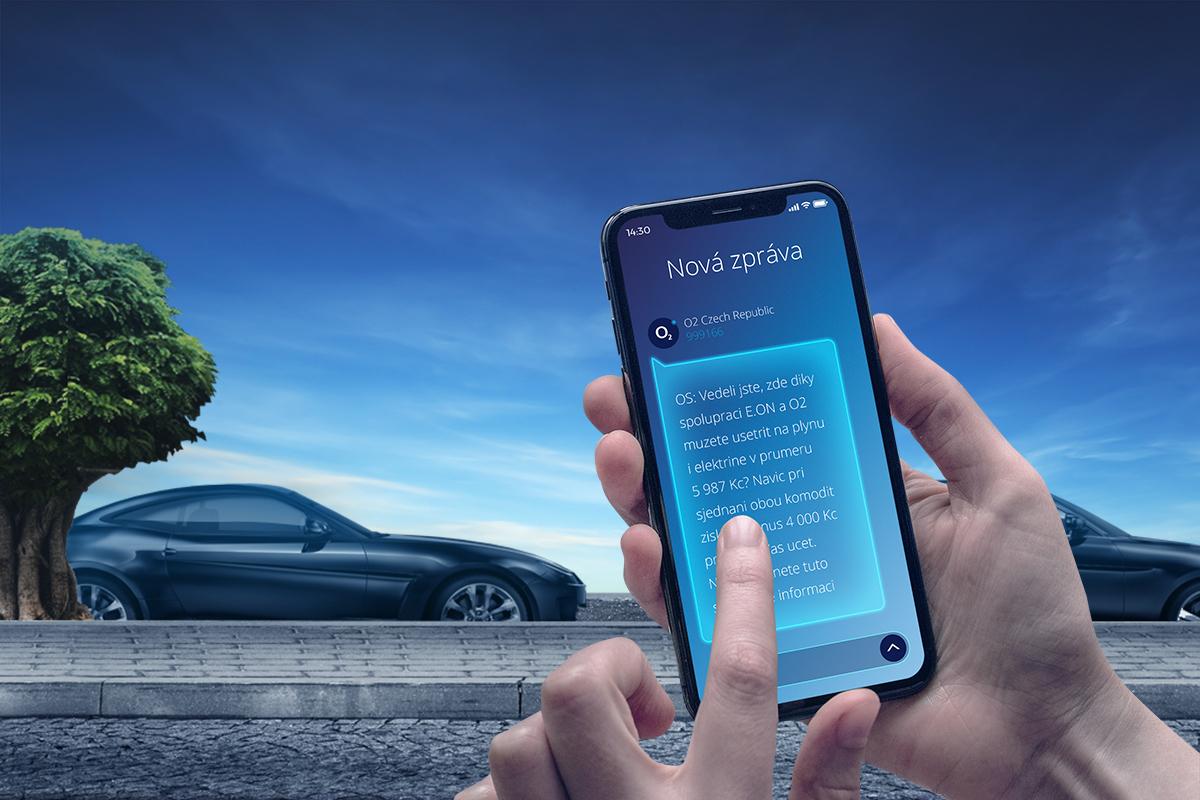 O2 Media umí rozesílat reklamní SMS