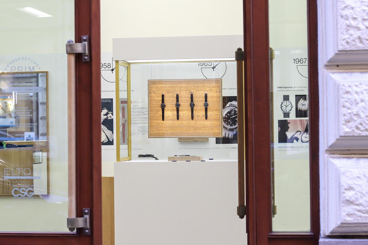 Nový butik hodinek Prim v pražské ulici Nekázanka