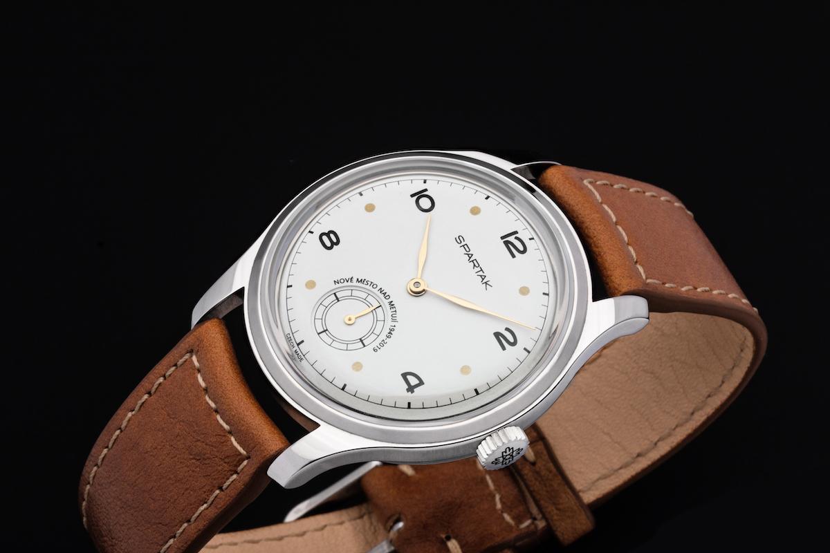 K letošním 70 letům značky Prim vznikla limitovaná edice Spartak, odkazující na první československé hodinky