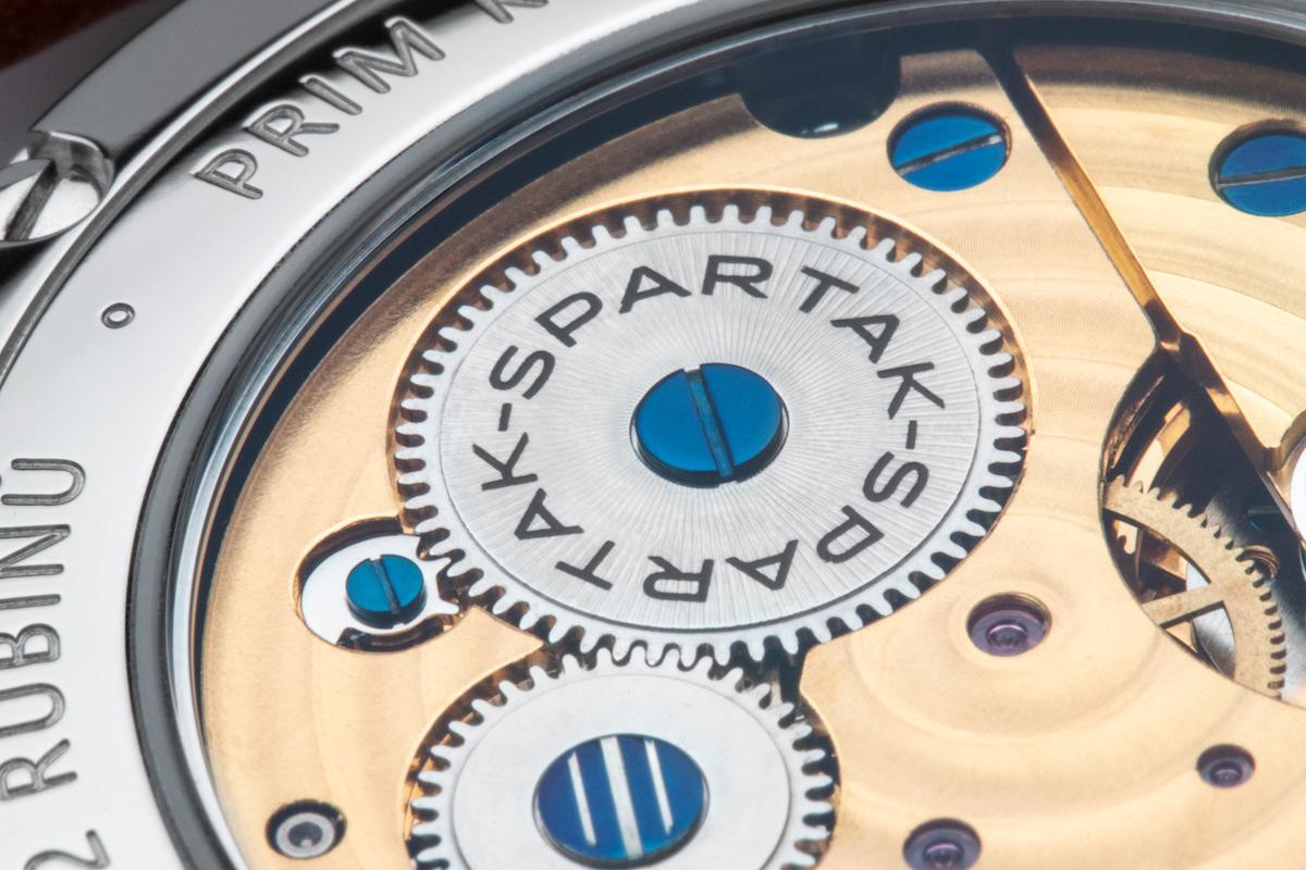 Strojek nové limitované edice Spartak