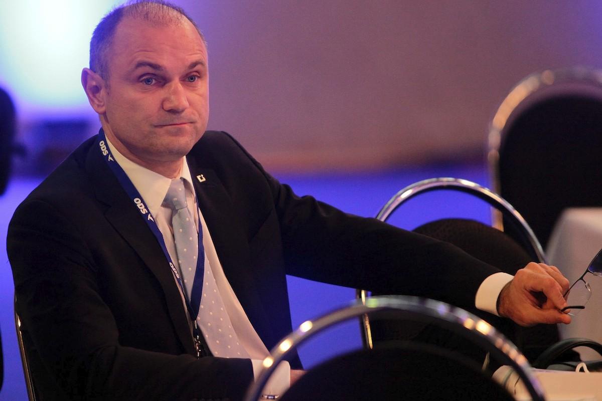 Ivan Langer na sjezdu ODS v Brně v roce 2012. Foto: Profimedia.cz
