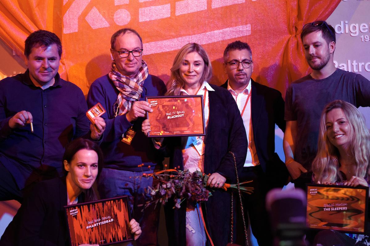 Tvůrci ocenění na letošním festivalu Serial Killeru. Foto: Serial Killer