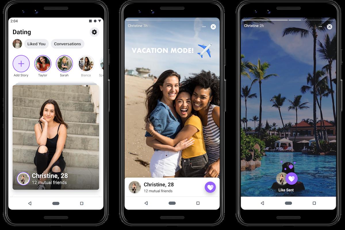 Facebook Dating bude součástí stávající aplikace Facebook, uživatelé si však musí vytvořit nový účet