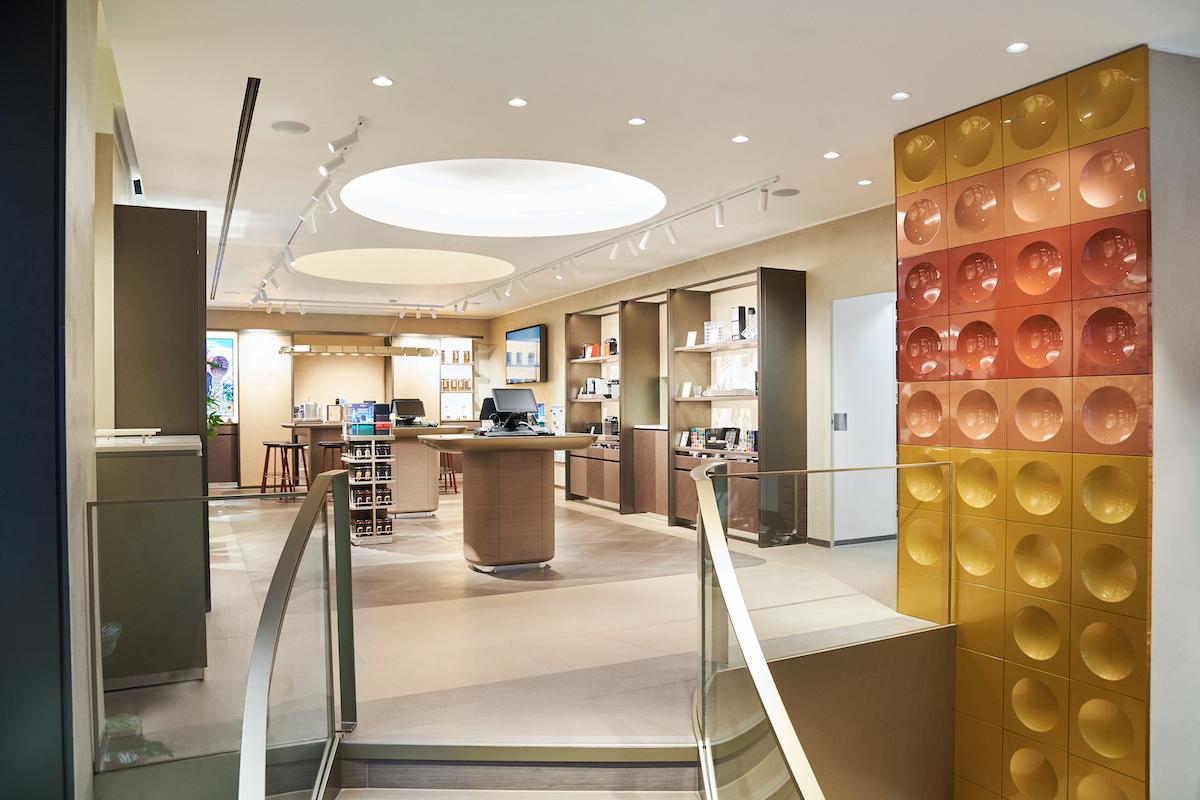 První butik Nespressa prošel velkou rekonstrukcí