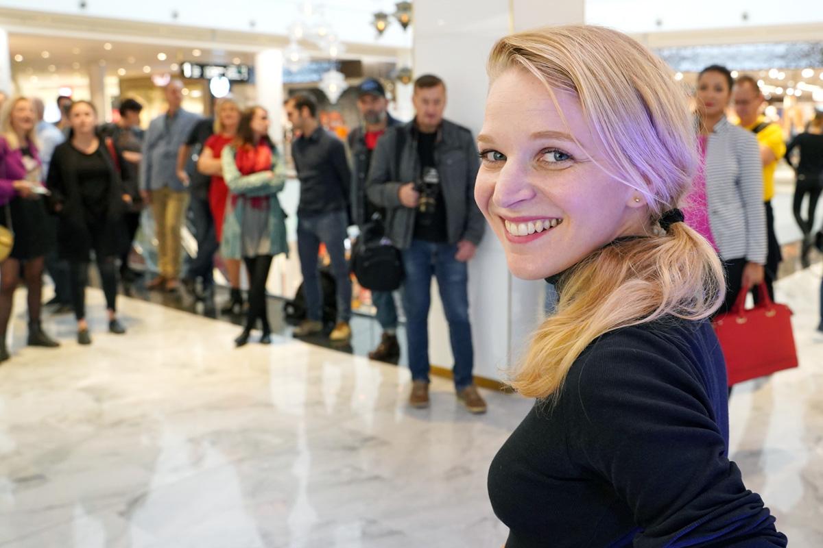 Majitelka obchodu designérka Anna Marešová