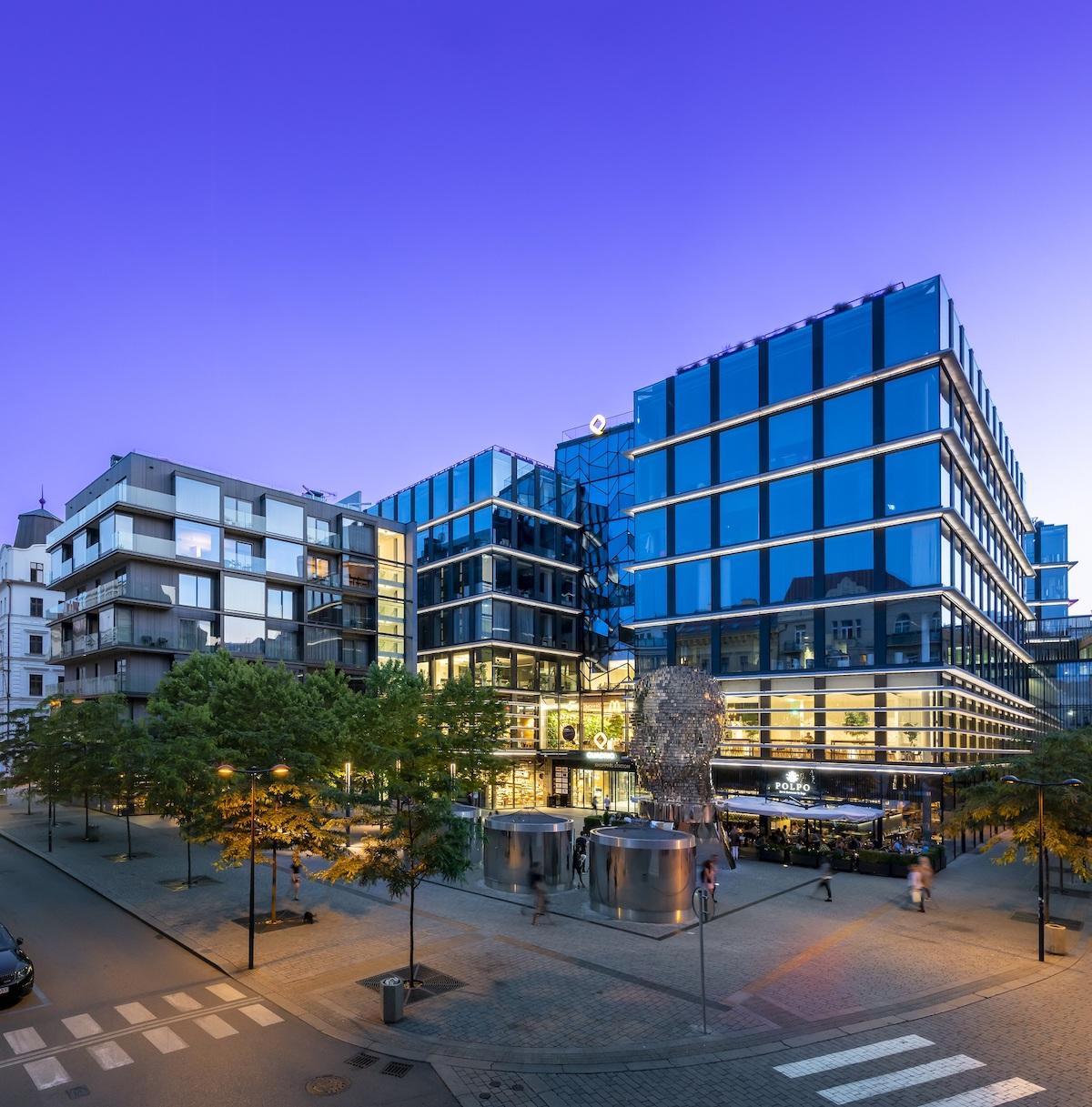 Nákupní prostor Quadrio vlastní CPI Property Group