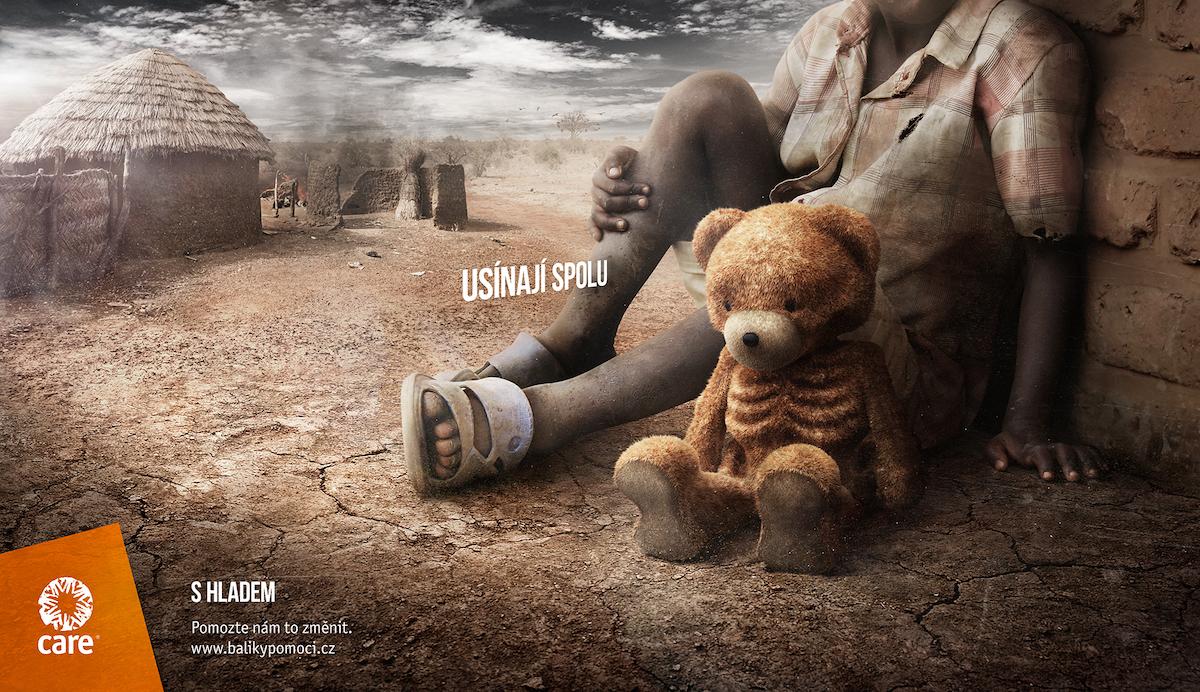 CARE: Skinny Toys / Teddy Bear (McCann Prague)
