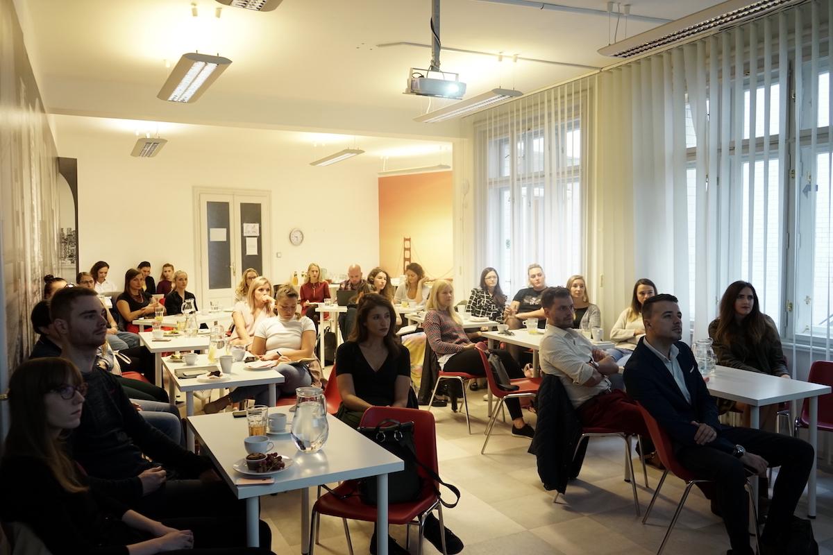 Snídaně v agentuře WeDigital se zúčastnilo přes 20 zástupců klientů