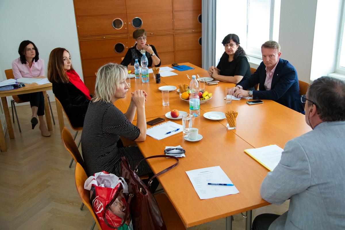 Rada ČTK na svém říjnovém zasedání. Foto: Karel Choc