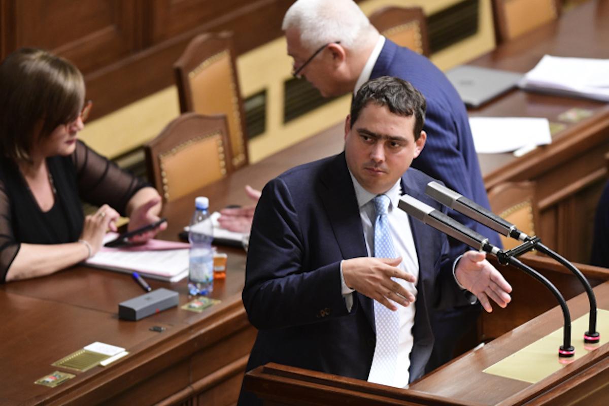 Poslanec ČSSD Petr Dolínek byl zpravodajem zpráv ČT za rok 2017. Foto: ČTK/Vondrouš Roman