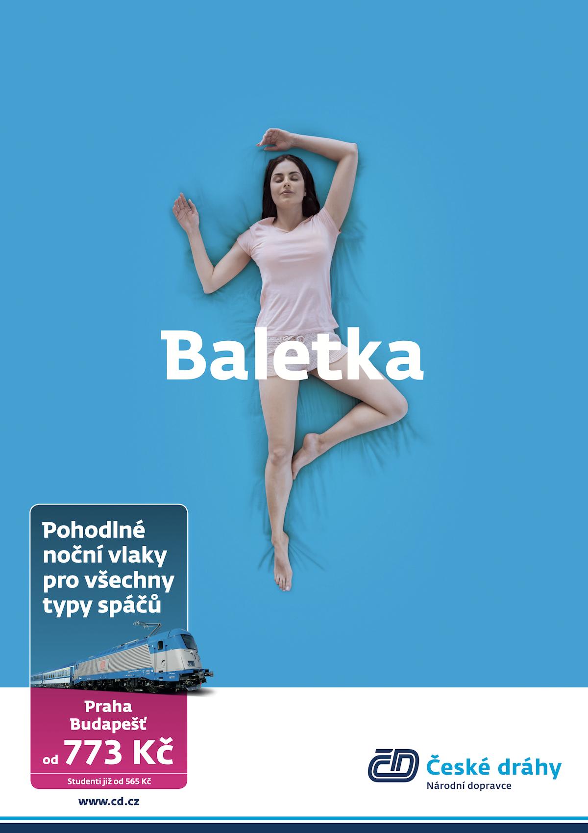 České dráhy: Baletka (Havas)