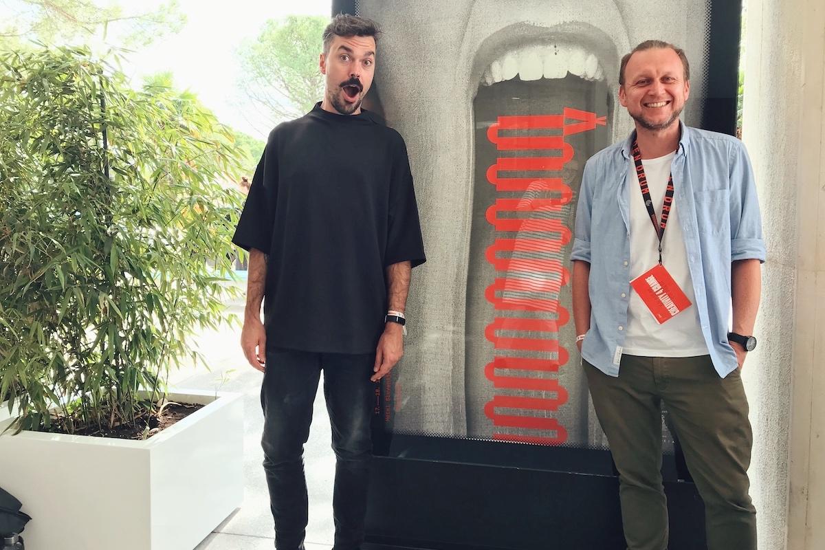 Vpravo autor článku a letošní porotce Golden Drum David Suda z české agentury WMC Grey