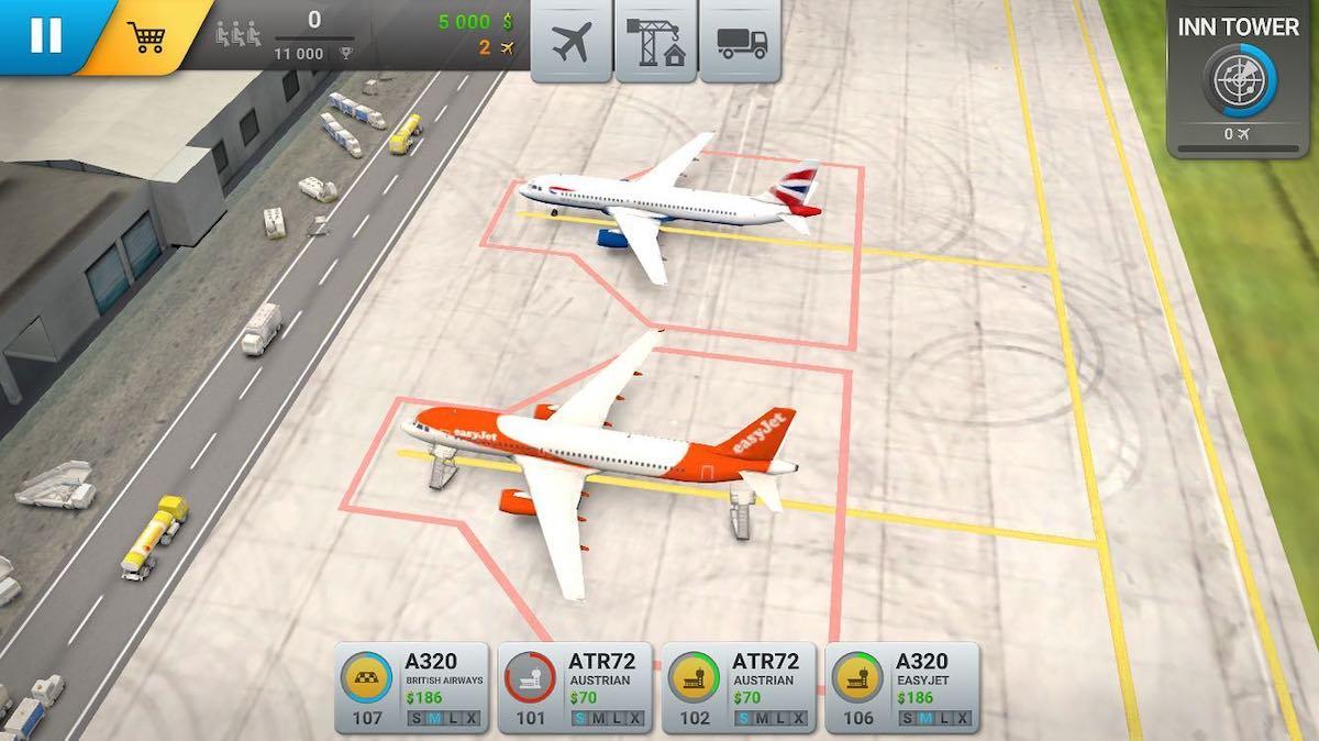 Hráči si mohou budovat vlastní flotilu letadel