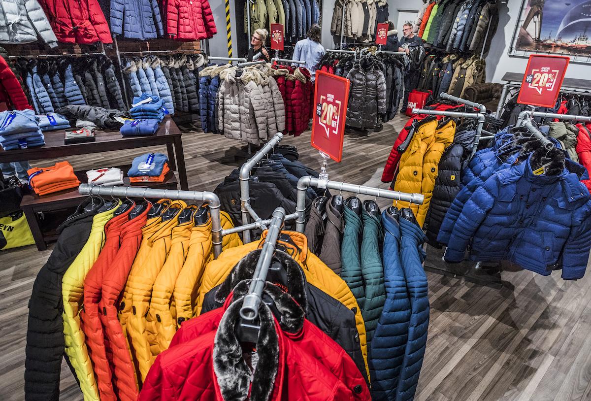 Obchod značky Wellenstyn v pražské Fashion Areně