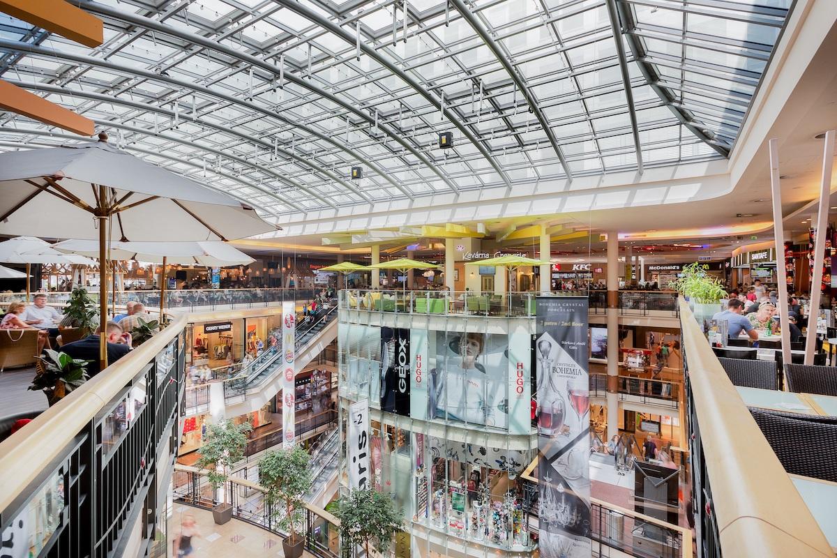 Obchodní centrum Palladium bude mít osm nových nájemců