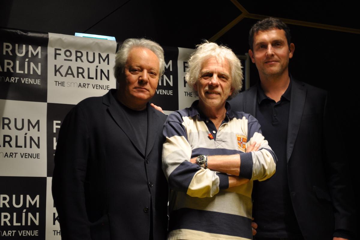 Zleva Serge Borenstein, Serge Grimaux, Jan Ludvík