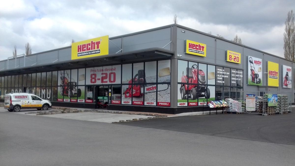 Prodejen značky Hecht je v Česku už třicet