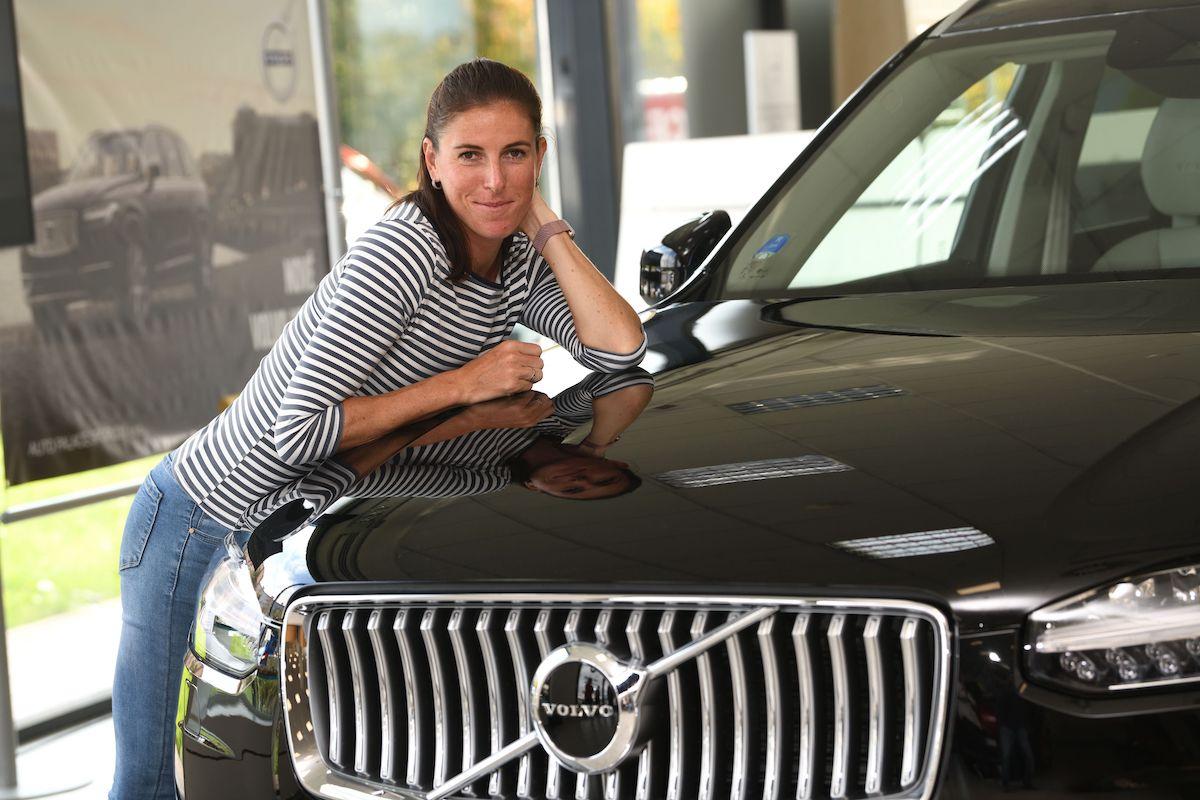 Zuzana Hejnová s Volvem od Auto Palace