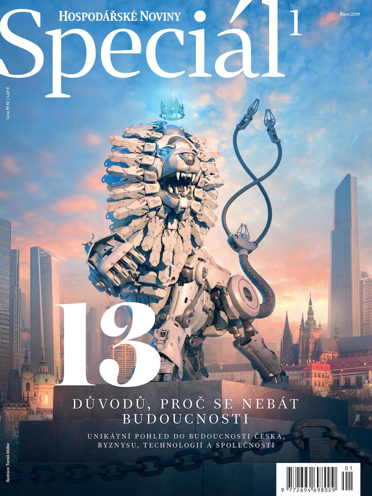 První Speciál Hospodářských novin se zaměřil na budoucnosthn-special