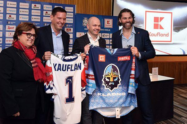 Německý Kaufland se stal sponzorem českého hokeje, tváří bude Jágr