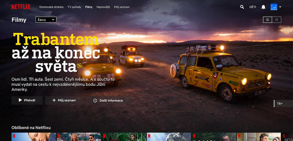 Netflix v češtině nabízí i lokální obsah
