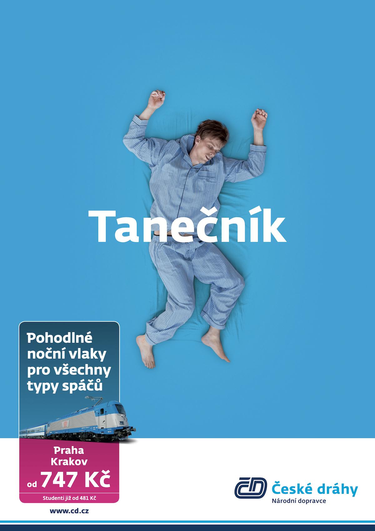 České dráhy: Tanečník (Havas)
