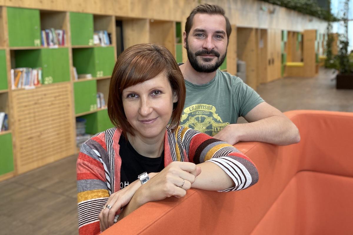 Martina Vašíčková a Jiří Faltýnek