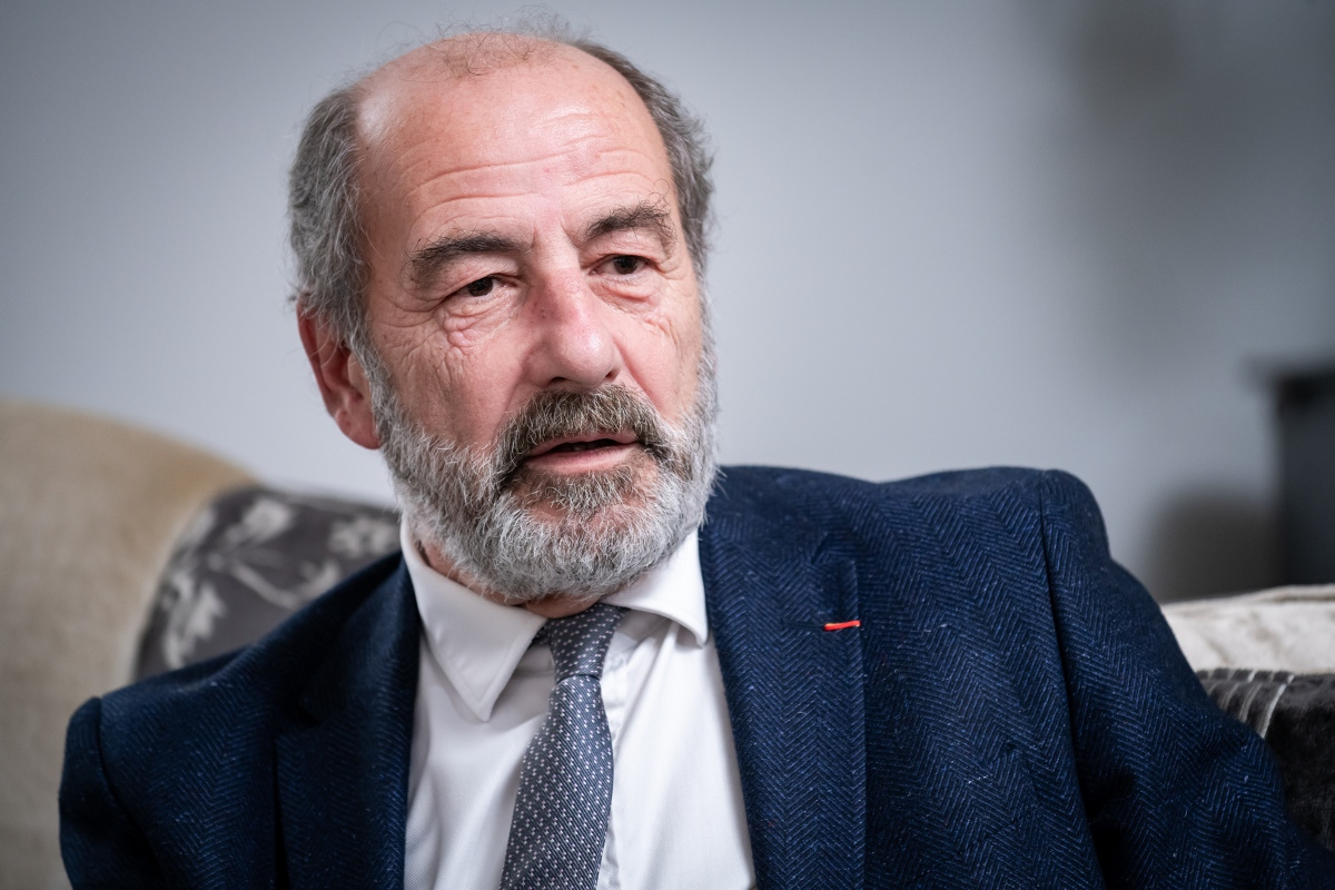 Michel Fleischmann. Foto: Vojta Herout