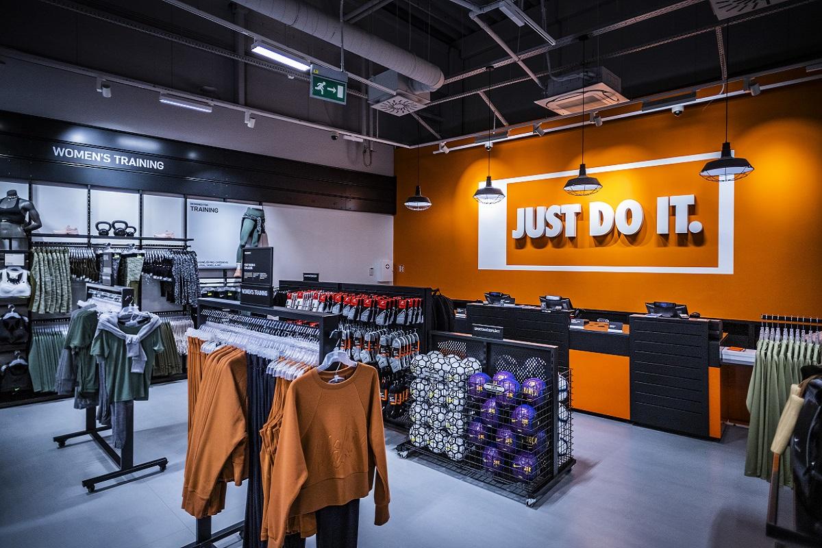 Nike renovovalo svou největší pobočku