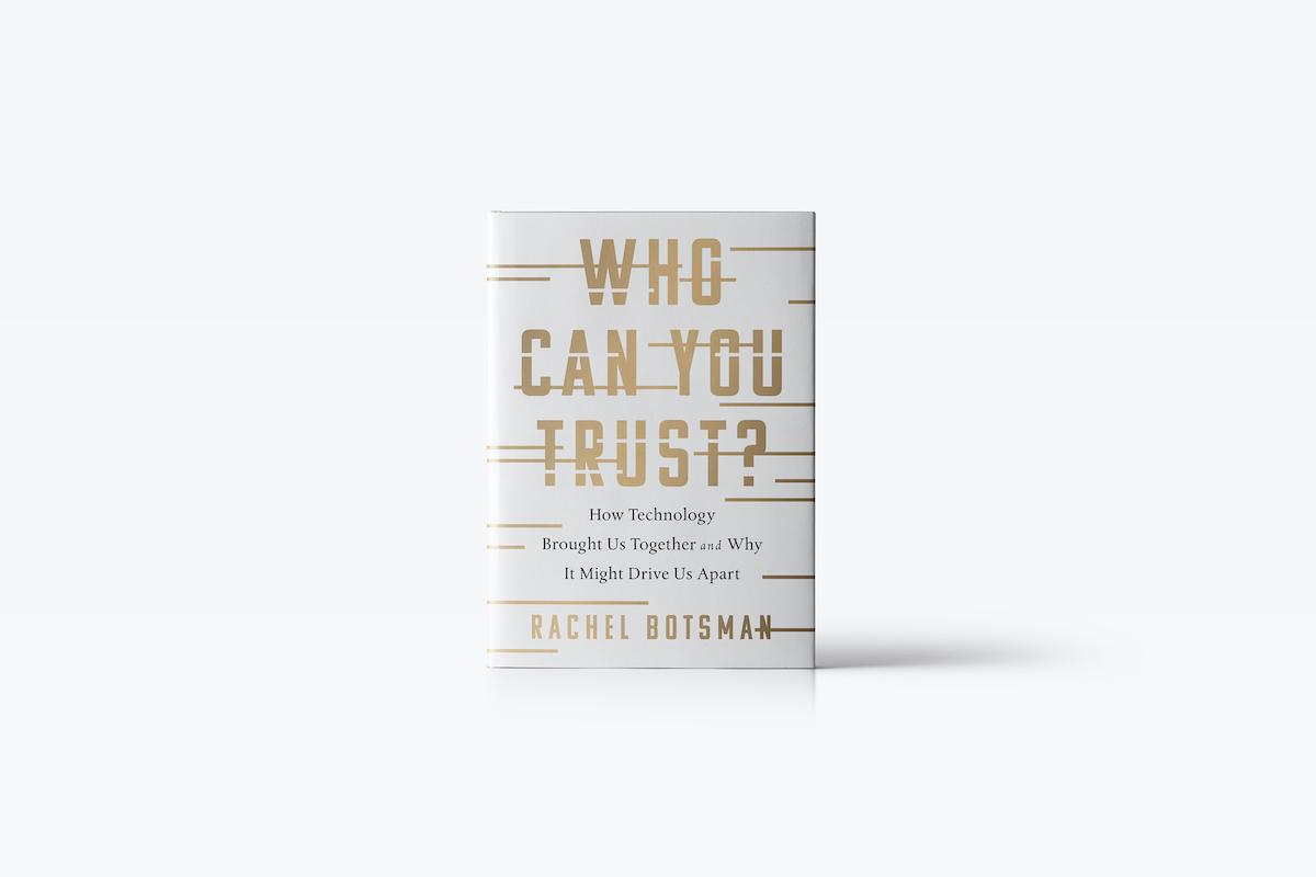 Kniha Who Can You Trust od Rachel Botsman
