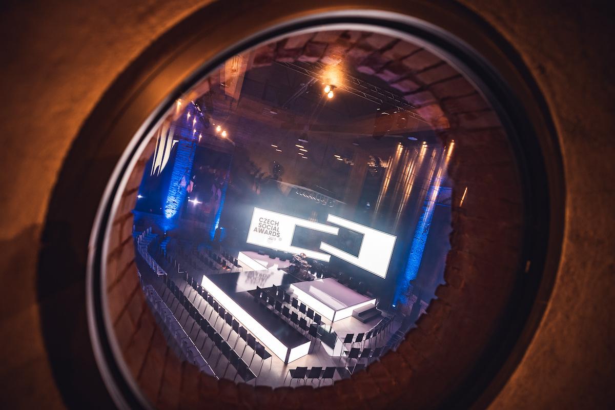 Pohled do hlavního sálu