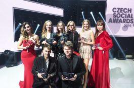 Czech Social Awards 2019: obhájili Anna Šulc a Kovy, objevem je Jakub Gulab