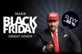 """""""Make Black Friday Great Again!"""" CZC.cz si na srovnání Alzou bere Trumpovo heslo"""