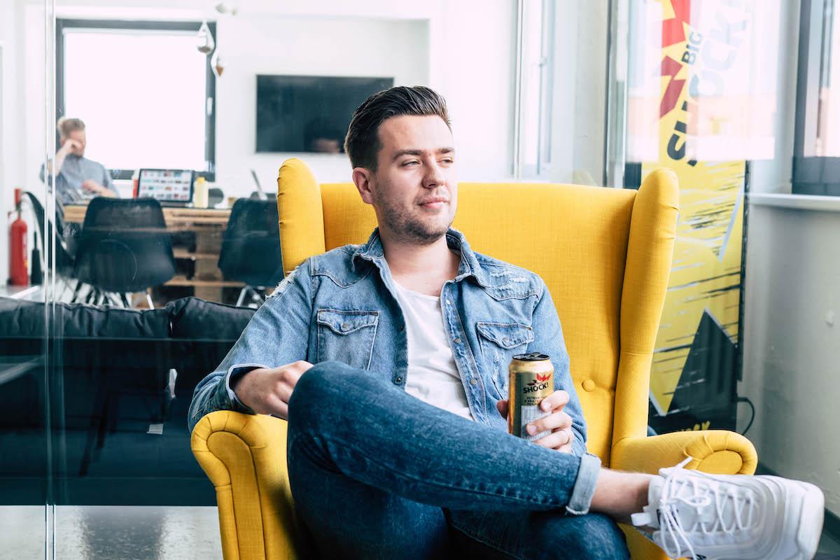 Daniel Krásný, kreativní ředitel Socialsharks