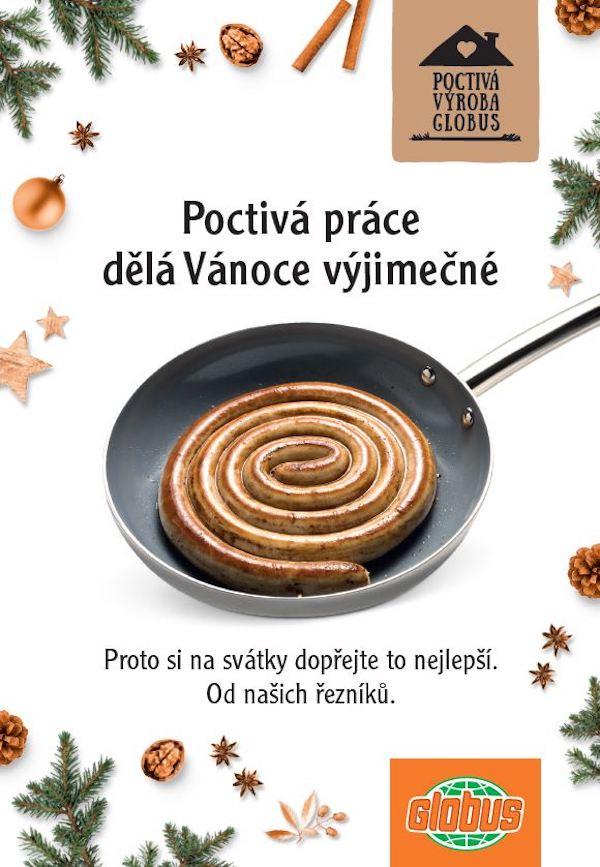 Z vánoční kampaně Globusu