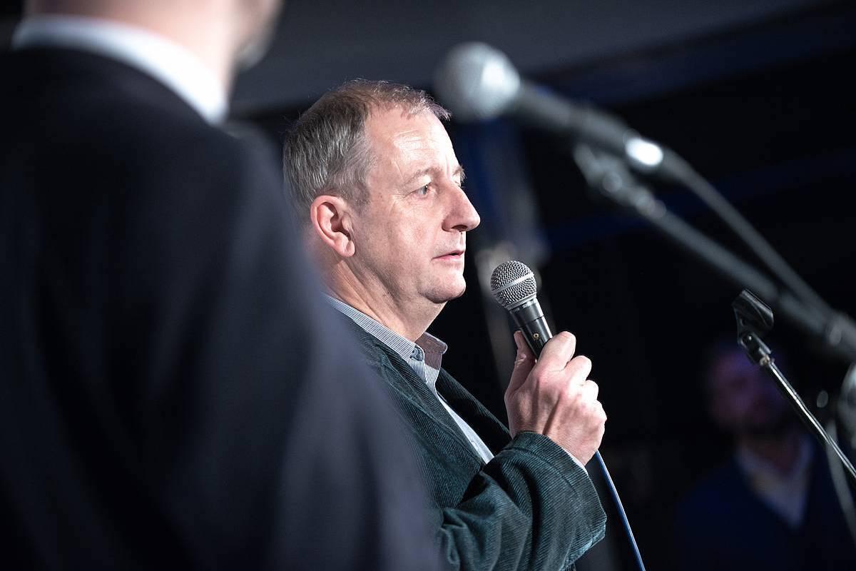 Spolupořadatele soutěže ADMEZ reprezentoval Tomáš Hájek