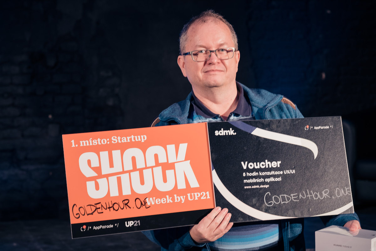 Martin Kůs byl oceněn porotou za GoldenHour.One. Foto: Jan Kovy