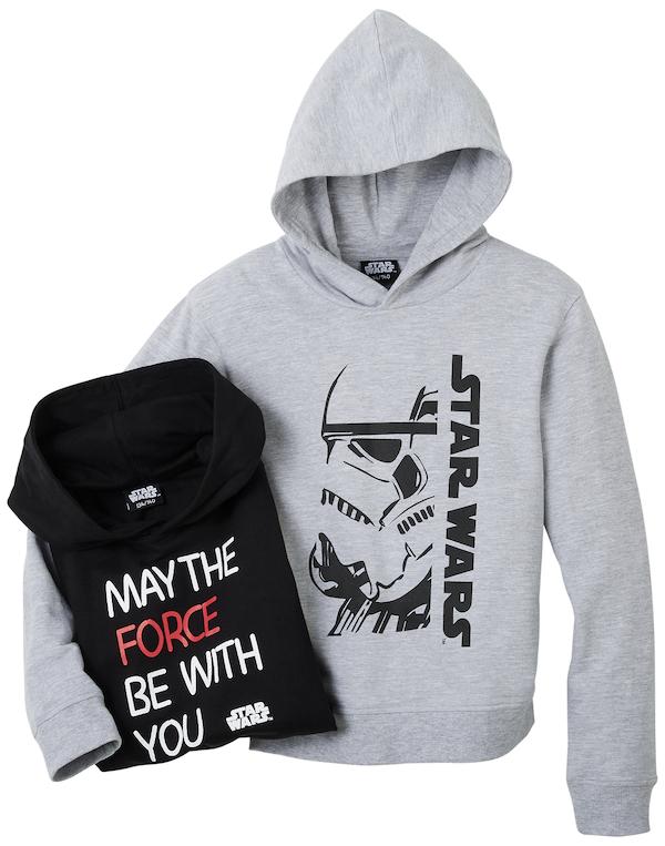 Mikina s motivy Star Wars z kampaně Kauflandu