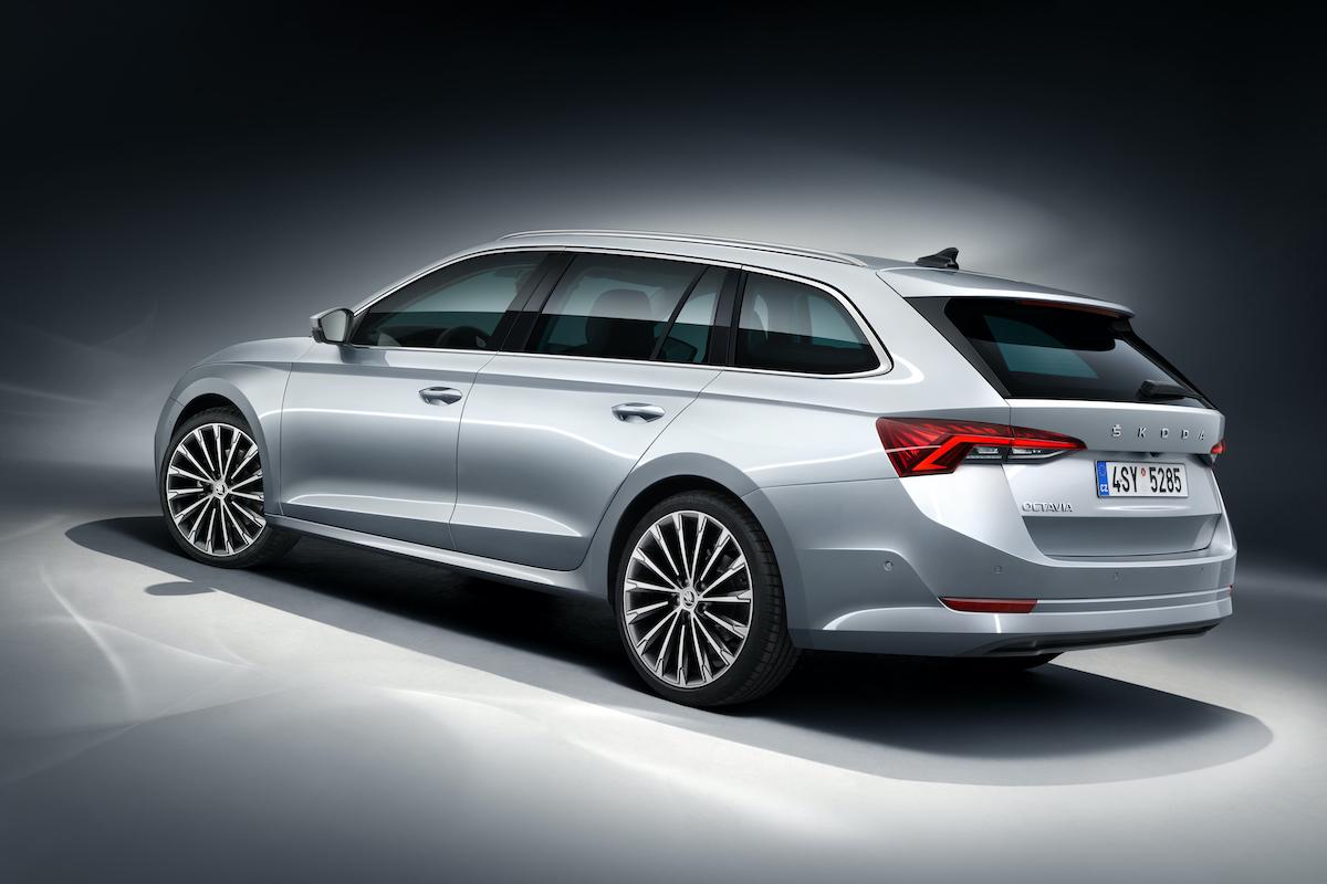 Nová, čtvrtá generace modelu Škoda Octavia